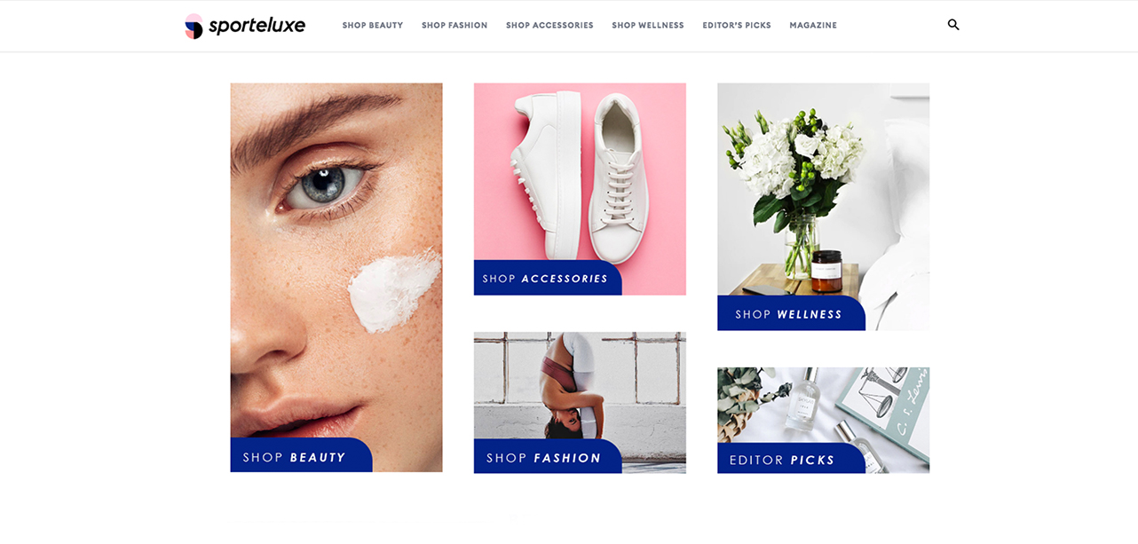 UX design for E-commerce health and wellness portal