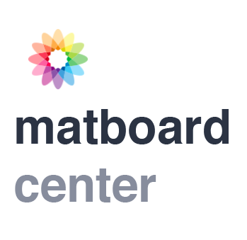 Matboard Center Logo